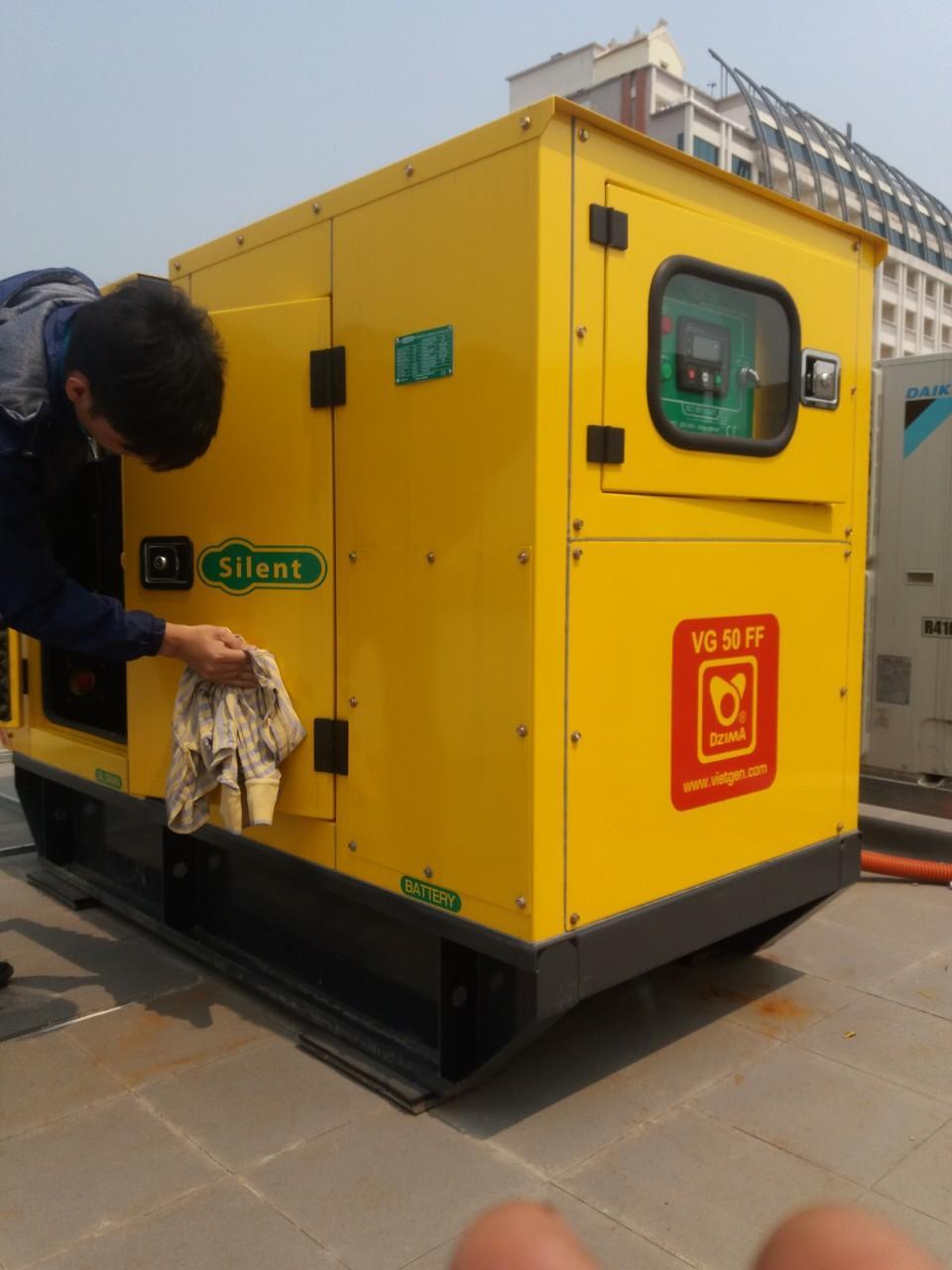 Lắp Đặt - Sửa Chữa - Bảo Dưỡng Máy Phát Điện Cũ