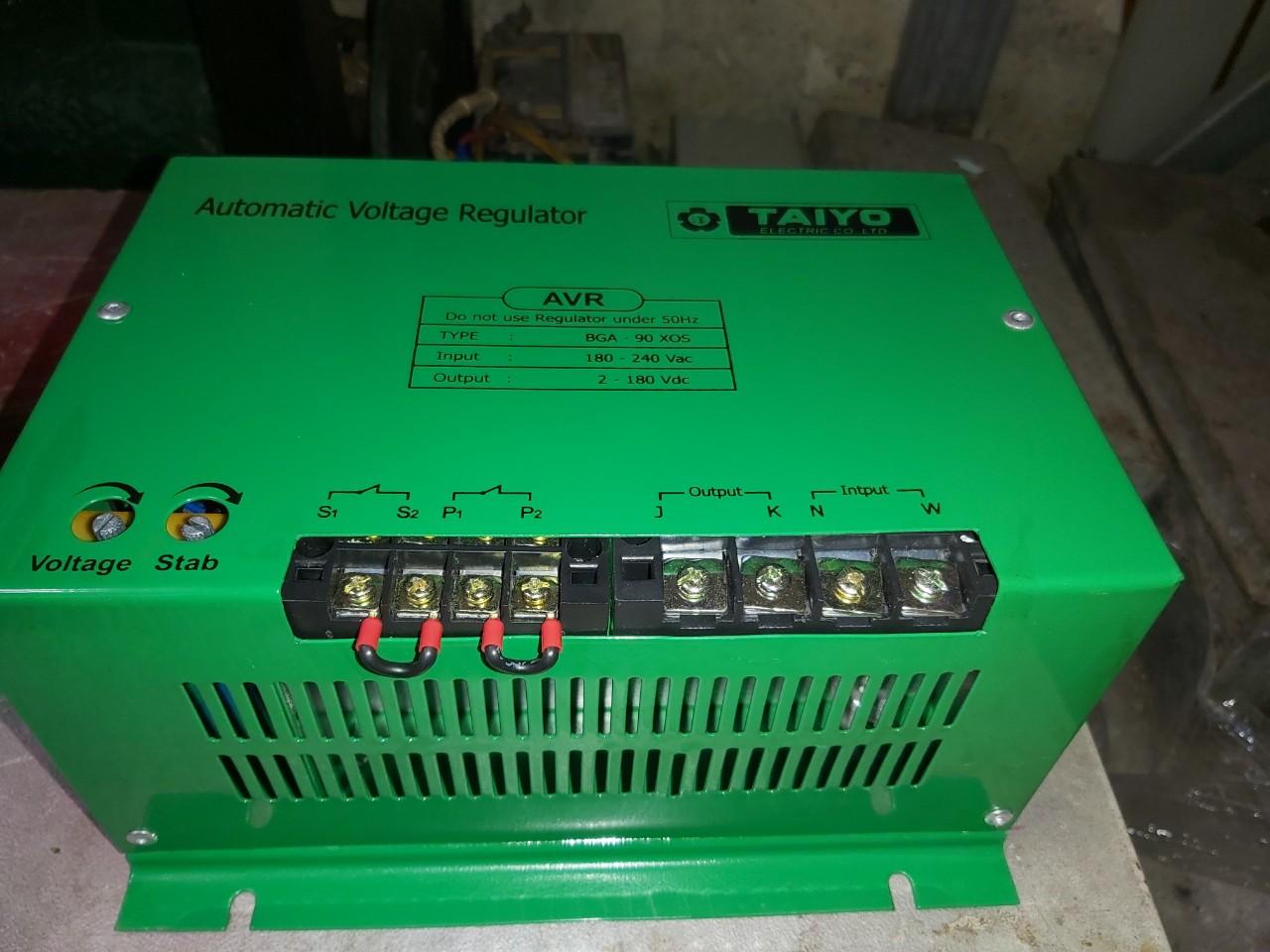 AVR cho máy chổi than ( mạch cầu)