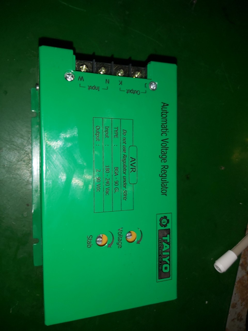 AVR cho máy chổi than ( mạch đơn / mono)
